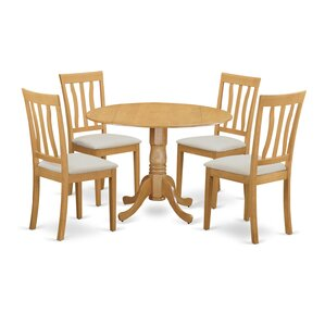 Gloucester 5 Piece Dining Set by Charlton Home