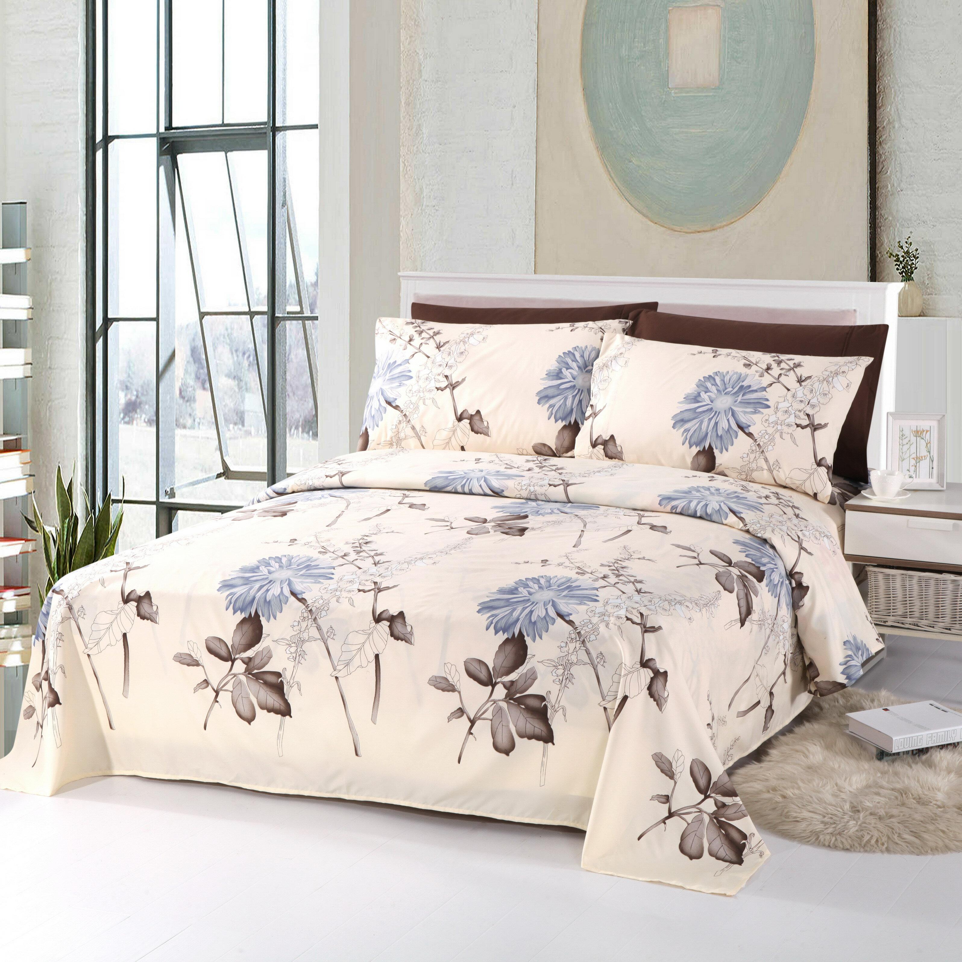 Red Barrel Studio Ruben Eco Friendly Comfortable Floral Rayon Sheet Set Reviews Wayfair