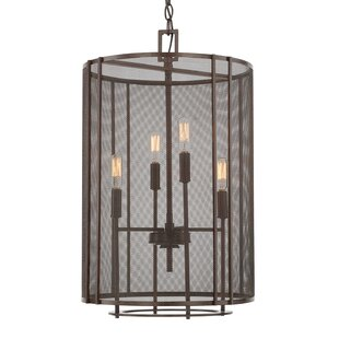 Behdad 4-light Foyer Fixture by Gracie Oaks