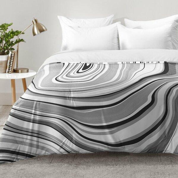 East Urban Home Marble Comforter Set Reviews Wayfair