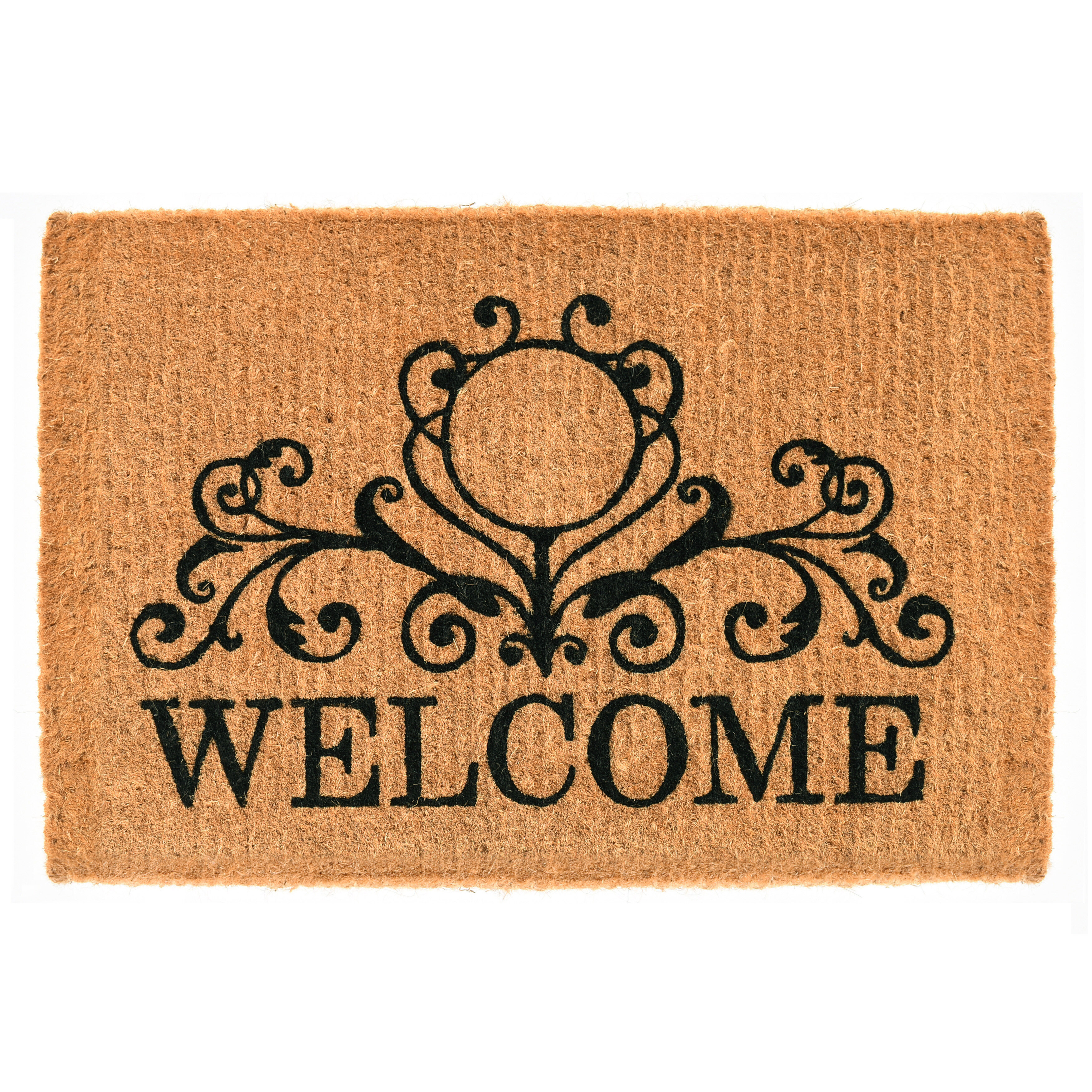Winston Porter Kruger Kingston Welcome Non Slip Outdoor Door Mat Wayfair