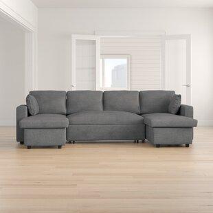 Review Wobner Sleeper Corner Sofa Bed