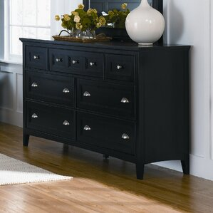 Janssen 7 Drawer Double Dresser by Darby Home Co