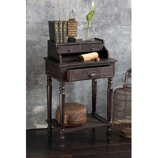 Alysa Wooden Etagere End Table