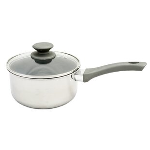 Lexie 2.5 qt. Stainless Steel Sauce Pan with Lid