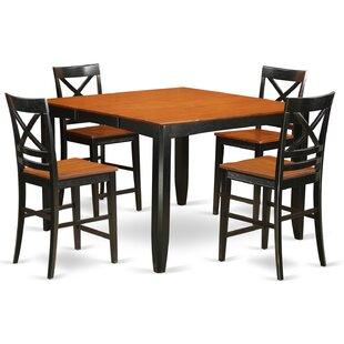 Tamarack 5 Piece Counter Height Pub Table Set Red Barrel Studio