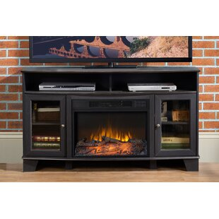 Wilson Media TV Stand for TVs up to 58 with Fireplace
