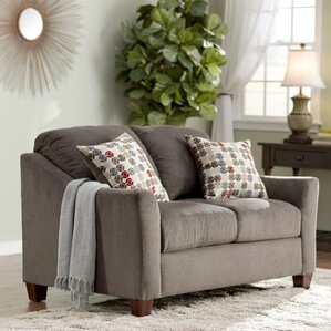 Simmons Upholstery Olivia Loveseat by Darby Home Co