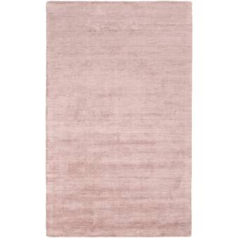East Urban Home Contemporary Pink Area Rug Wayfair