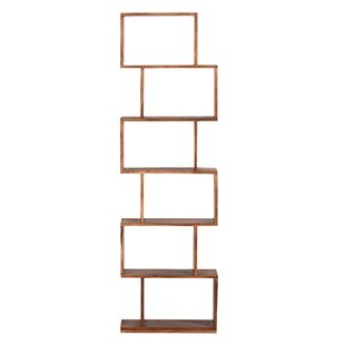Amburgey Geometric Bookcase
