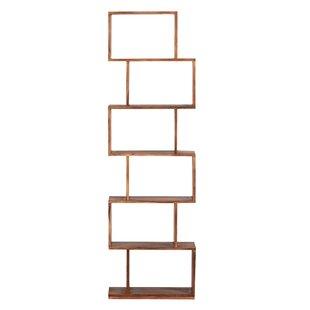 Amburgey Mid-Century Modern Sheesham Wood Standard Bookcase Foundry Select