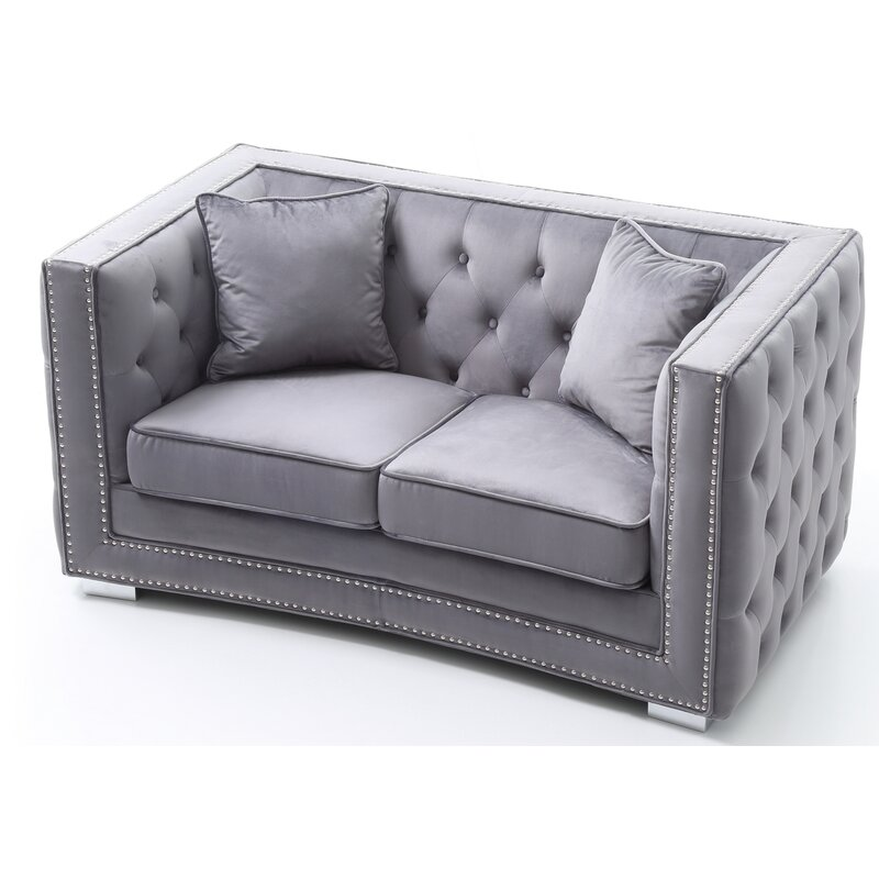 Smollin Chesterfield Loveseat