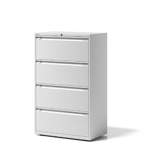 Essentials 4 Drawer Filing Cabinet By Bisley