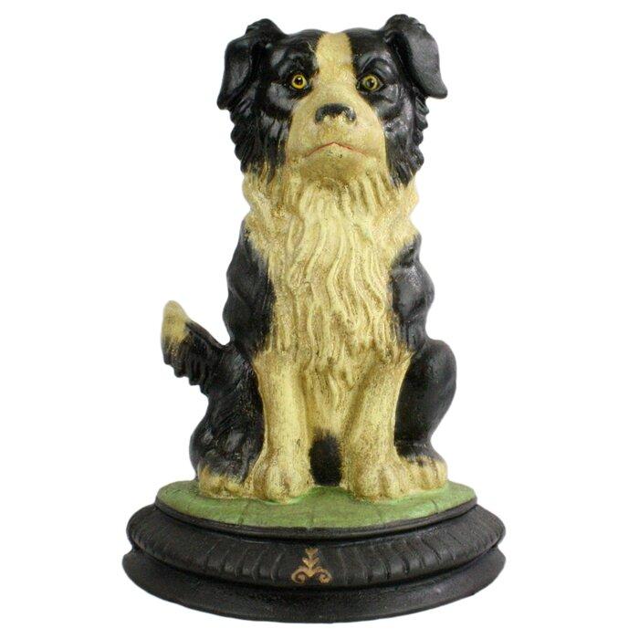 Berrios Dog Cast Iron Weighted Floor Stop