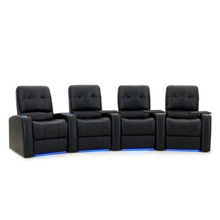 Large Home Theater Curved Row Seating (Row Of 4)