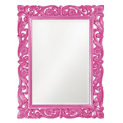 Majestic Mirror Large Traditional Bright Gold Leaf Rectangular ...