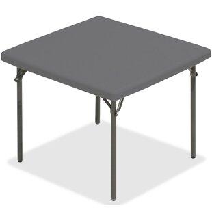 Best Price IndestrucTableTOO Square 37 Square Folding Table ByIceberg Enterprises