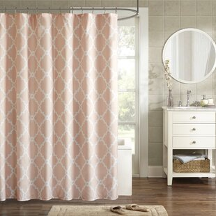 Shower Curtains Pink And Brown.Pink Shower Curtains Joss Main