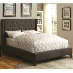 Cecily Upholstered Panel Bed by Darby Home Co