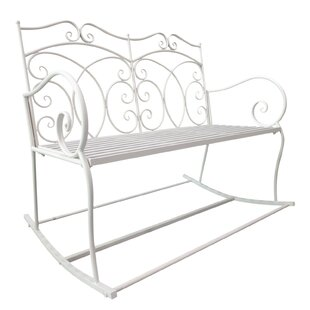 Decorative Iron Bench By Lily Manor