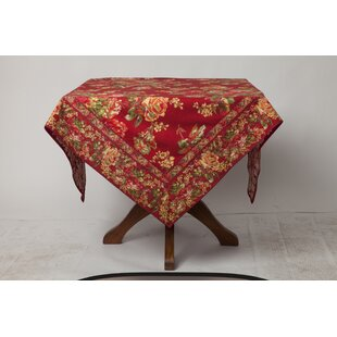 Luciani Rose Floral Tablecloth