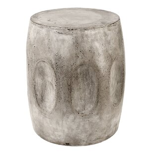 Bloomsbury Market Aria Waxed Concrete Stool