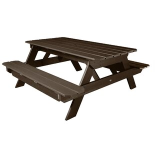 Hometown Plastic/Resin Picnic Table by Highwood USA
