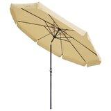 Frieda 10' Special Valance Aluminum Market Umbrella