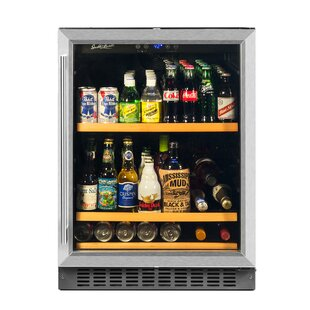 Single Zone 25-inch 5.12 cu. ft. Convertible Beverage Center by Smith & Hanks