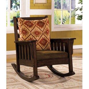 Loon Peak Rodriguez Rocking Chair