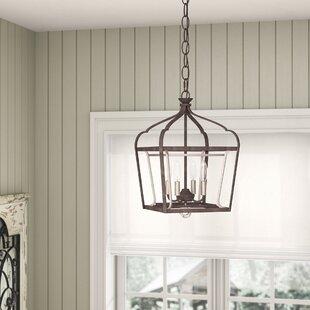 Laurel Foundry Modern Farmhouse Evangeline 4-Light Foyer Pendant