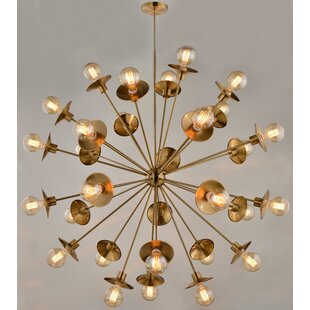 Brayden Studio Espinosa 30-Light Sputnik Chandelier