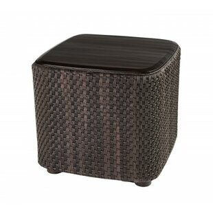 Aruba Wicker Side Table