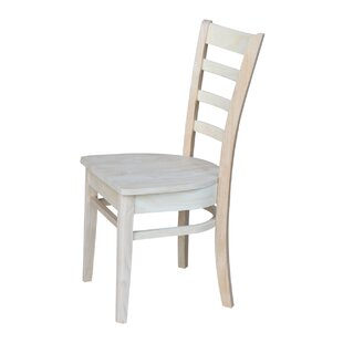 Breakwater Bay Bloomfield Solid Wood Dining Chair (Set of 2)