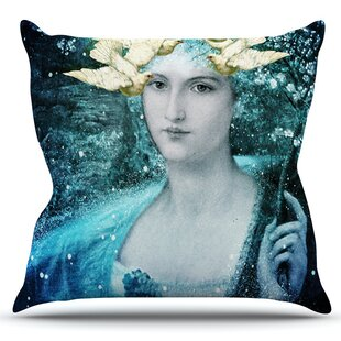Adorned By Suzanne Carter Outdoor Throw Pillow by East Urban Home