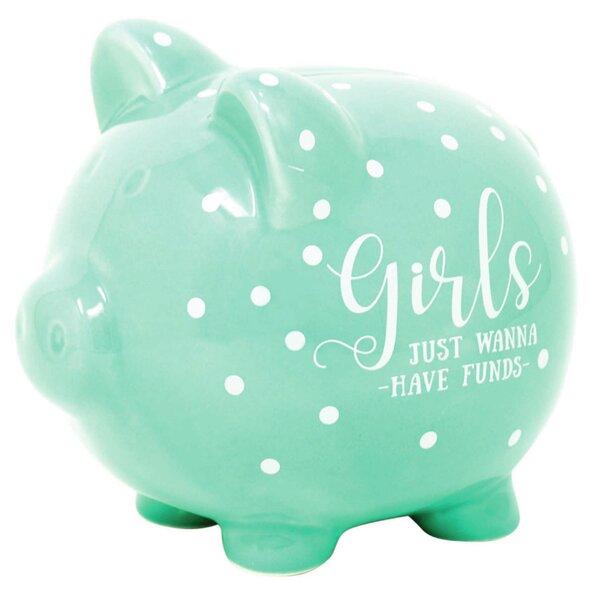 Girls Piggy Bank Wayfair