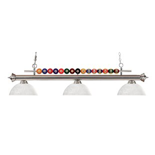 Chapa 3-Light Billiard Light by Red Barrel Studio