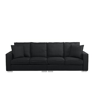 Best Reviews Hubert Modern Low Frame Sofa by Orren Ellis Reviews (2019) & Buyer's Guide
