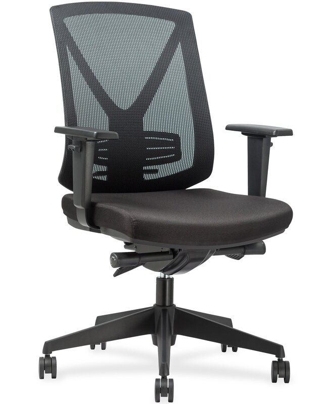 Steel Frame Mid Back Mesh Desk Chair