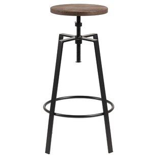 Williston Forge Black Seat Bar Stools