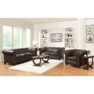 Darby Home Co Desidéria 3 Piece Living Room Set