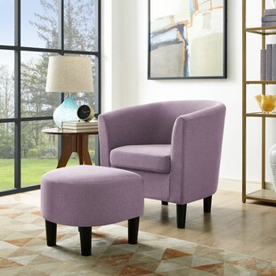 Gwendolen Club Chair and Ottoman