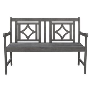 Densmore Patio Diamond Wooden Garden Bench