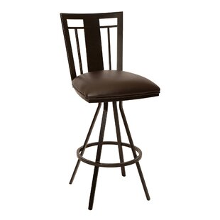 Natascha 30 Swivel Bar Stool Latitude Run