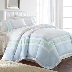 Baylis 100% Cotton 3 Piece Reversible Duvet Cover Set