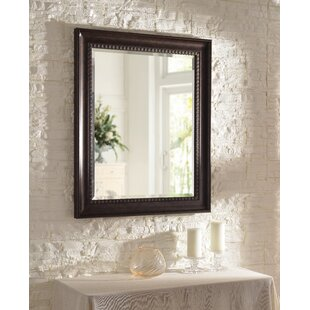 Krawczyk Rustic Beveled Distressed Accent Mirror