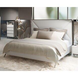 Anouk Upholstered Platform Bed by Wade Logan