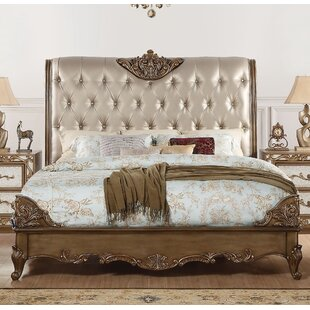 Nealy Upholstered Panel Bed by Astoria Grand Comparison