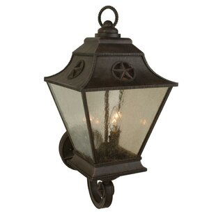 Charlton Home Osmond 3-Light Outdoor Sconce