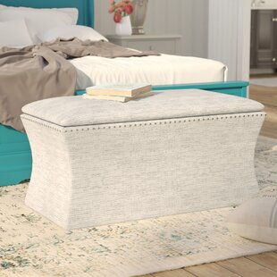 Lark Manor Pegasi Upholstered Storage Bench
